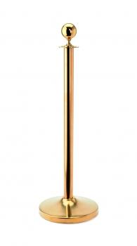 Wandhalter titanium gold für Verbindungstaue /& Kordel